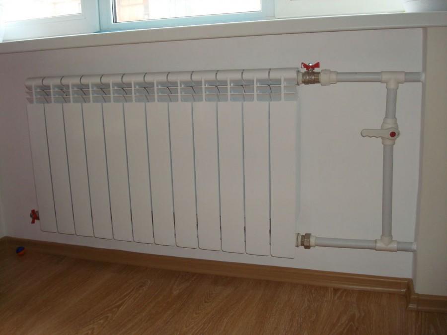 Установка радиатора отопления в Мурманске